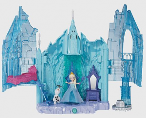 Disney Frozen Magical Lights Palace Playset from Mattel